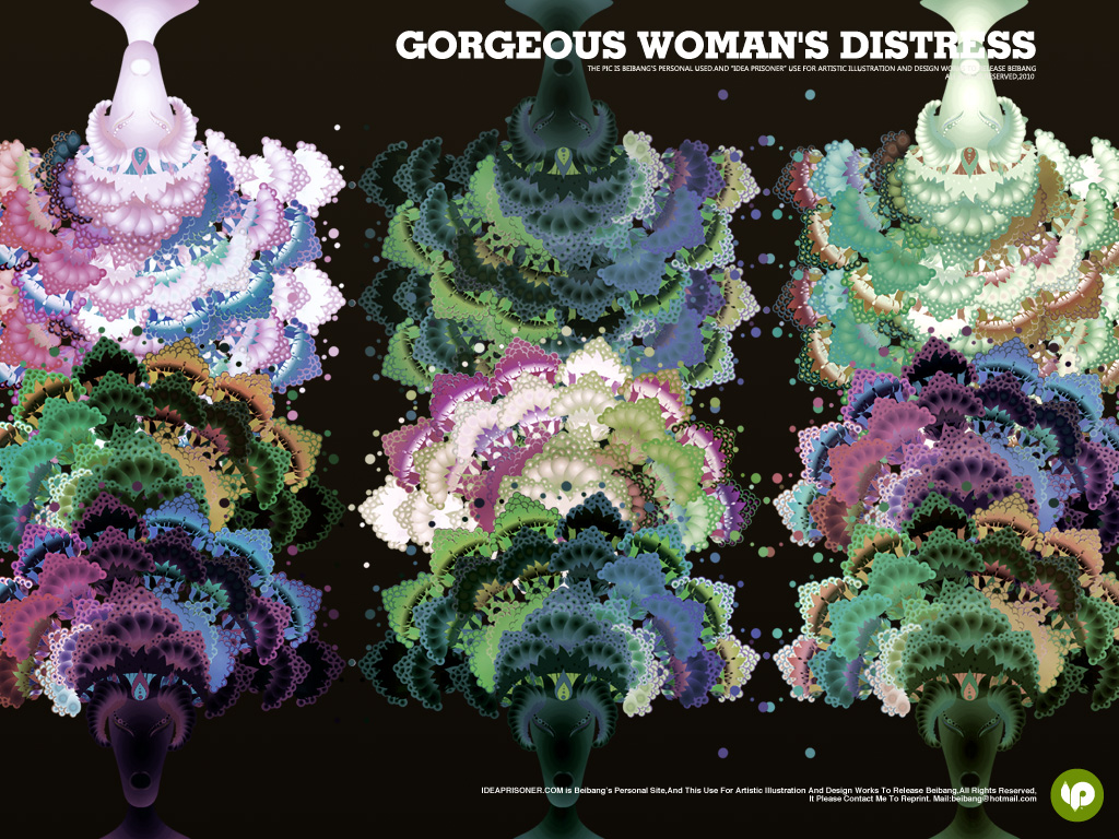 Gorgeous woman's distress5